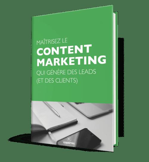 Maîtrisez  le content marketing avec l'Agence Copernic