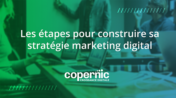 étapes stratégie digitale