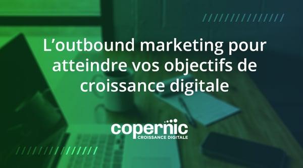 outbound marketing croissance digitale