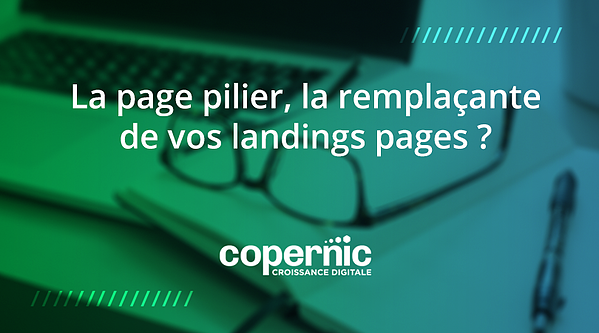 page pilier landing page