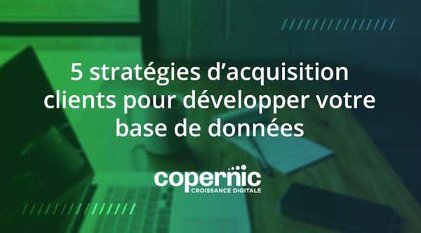 stratégies acquisition clients crm