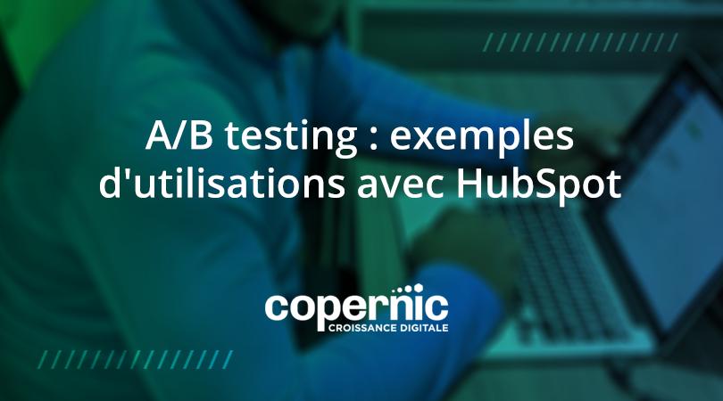 AB testing hubspot