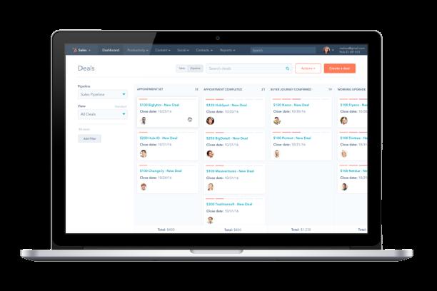 Hub Sales pipeline