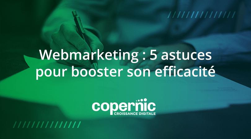 Webmarketing booster efficacité