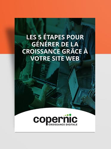croissance site web