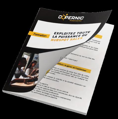 brochure formation hubspot sales
