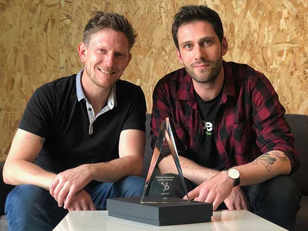 Antoine MARTIN et stéphane DONNINGER HubSpot Partner